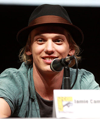 Jamie Campbell Bower - Bower at the 2013 San Diego Comic-Con.