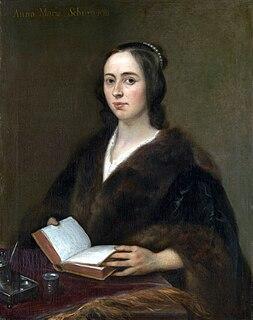 Anna Maria van Schurman Dutch painter