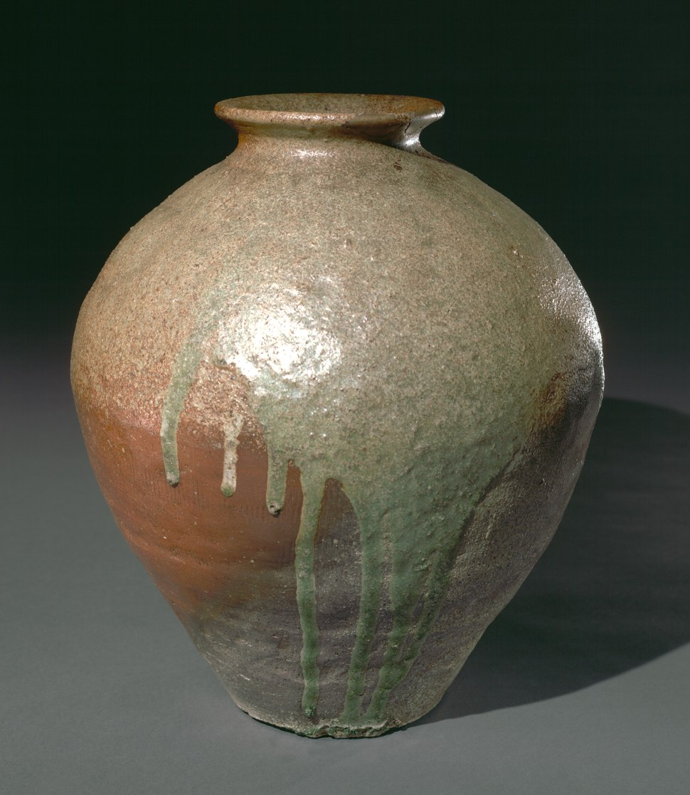 Japan, Muromachi period - Storage Jar- Tamba Ware - 2002.66 - Cleveland Museum of Art