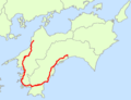 Japan National Route 56 Map.png