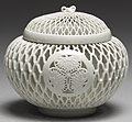 "Japanese - Incense Burner (""Koro"") with Tokugawa Family Crest (""Aoi mon"") - Walters 491747 (cropped).jpg"