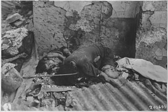 Manila massacre - Image: Japanese atrocities. Philippines, China, Burma, Japan NARA 292598
