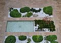 Jardinet i font del pati xicotet, Tabacalera, València.JPG