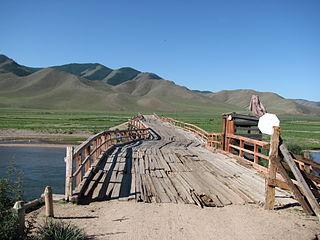 Jargalant, Khövsgöl District in Khövsgöl Province, Mongolia