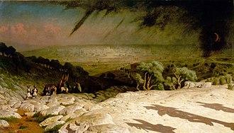 Jerusalem (painting) - Image: Jean Léon Gérôme Consummatum est
