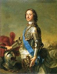 Jean-Marc Nattier: Portrait of Peter I
