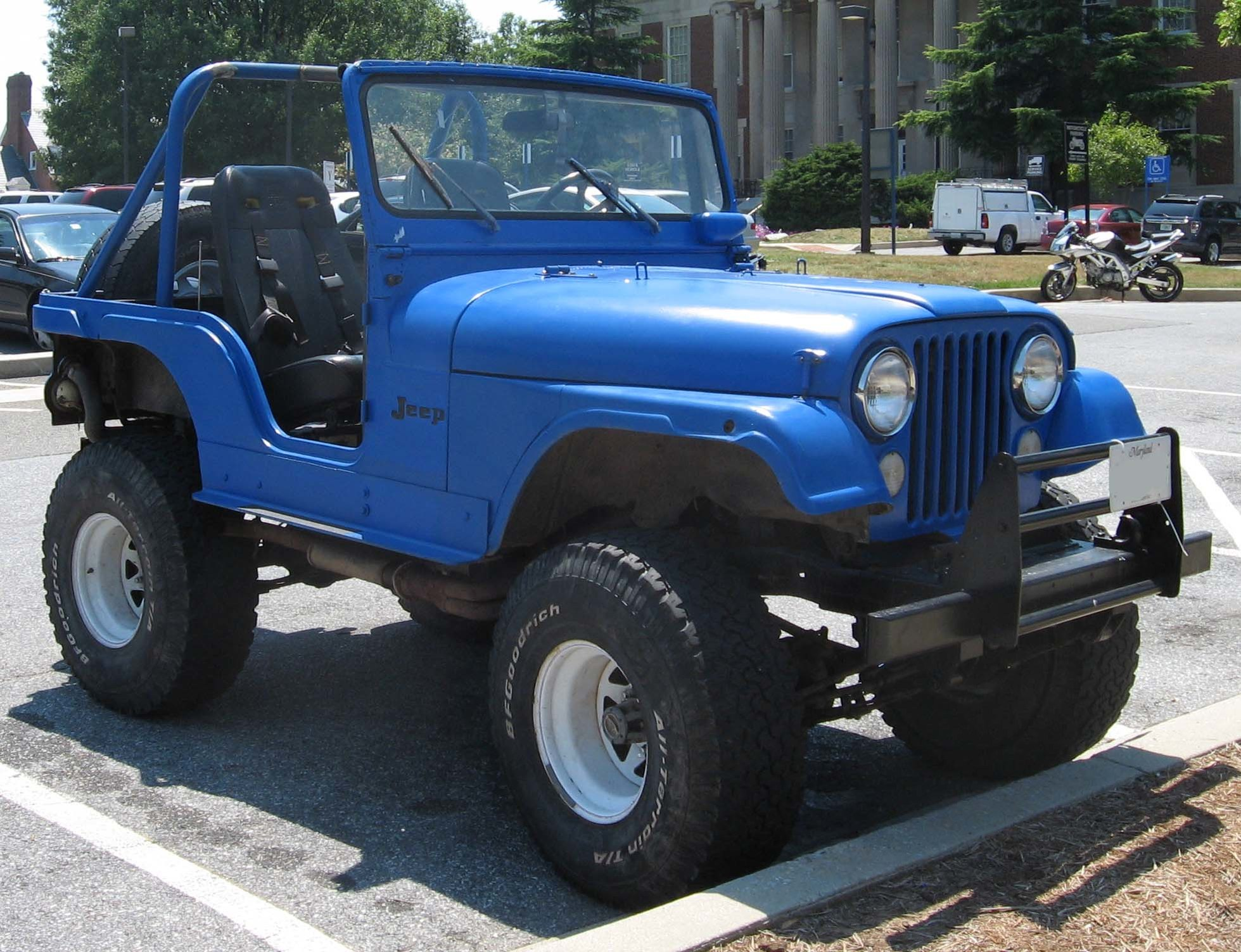 Jeep CJ The plete information and online sale with free