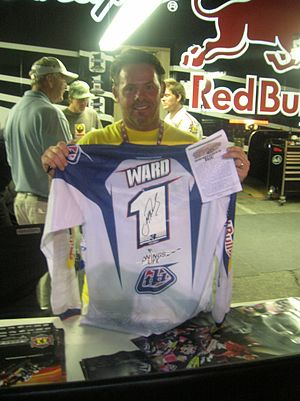 Jeff Ward (motorsports) - Ward in 2007