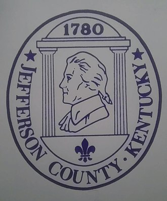 Jefferson County, Kentucky - Image: Jeffcoseal