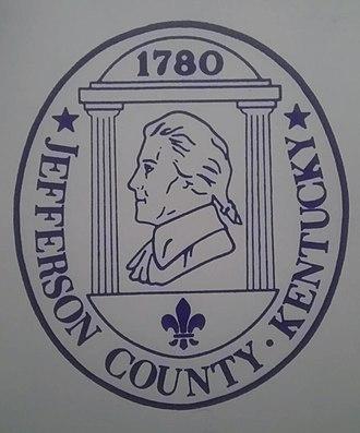 Jefferson County, Kentucky - Image: Jeffcoseal