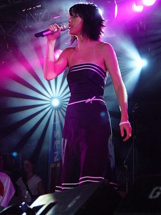 Jem (singer) - Jem performing on the John Peel Stage at Glastonbury Festival on Sunday 26 June 2005