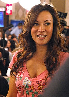 Jennifer Tilly tijdens de 2006 World Series of Poker.