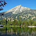 Jenny Lake below The Teton, WY (14723083250).jpg