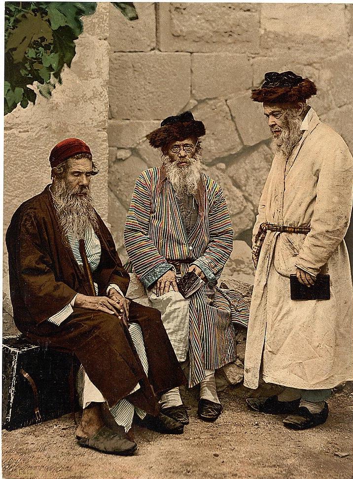Jews in Jerusalem 1890s