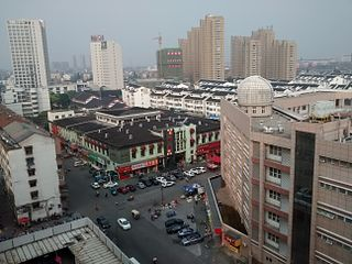 District in Jiangsu, People