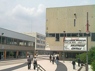 Charles de Gaulle University – Lille III - Entrance of Lille III