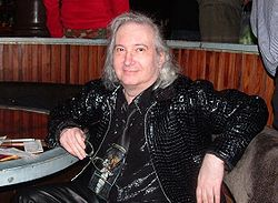 Jim Steinman nel 2005 al Joe's Pub di New York City