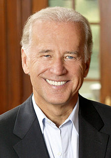 Democratic Vice Presidential Candidate Senator Joe Biden