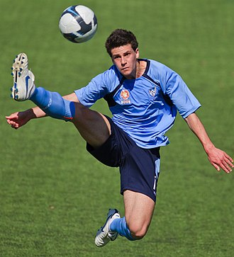 Joel Chianese - Chianese playing for Sydney FC Youth in 2009