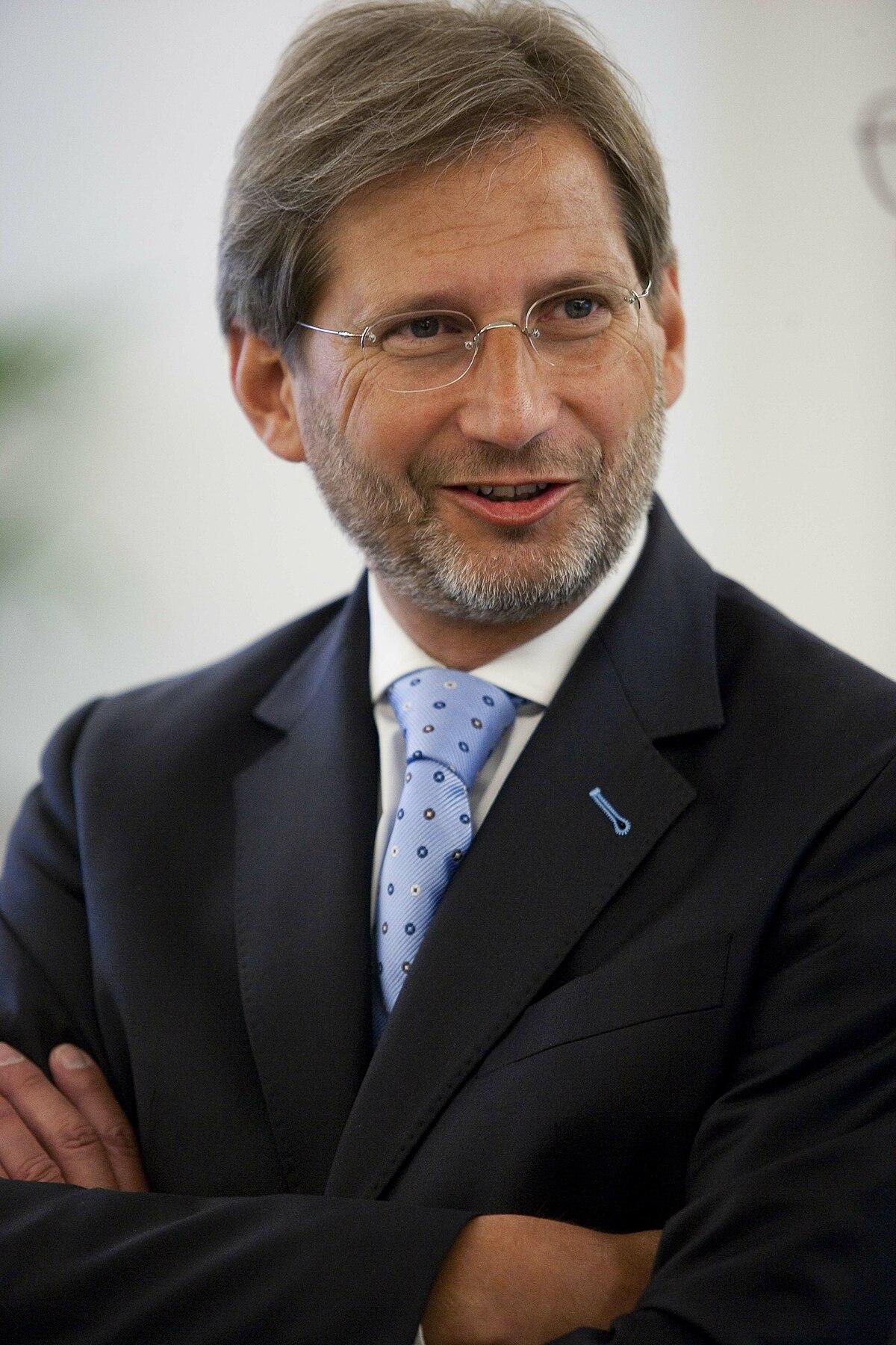 Johannes Hahn Politiker –