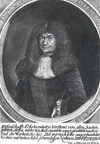 Johann von Löwenstern-Kunckel - Image: Johannes Kunckel