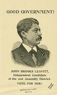 John Brooks Leavitt American lawyer