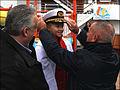 John Heald, Hailee Steberger, and Captain Carlo Queirolo on Carnival Dream.jpg