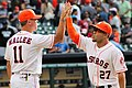 John Mallee and Jose Altuve May 2014.jpg