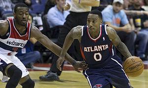Sports in Georgia (U.S. state) - Hawks' Jeff Teague in 2013