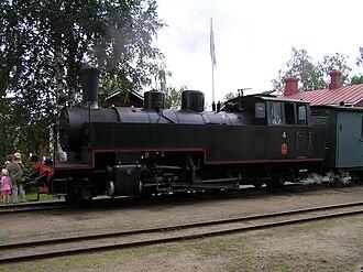 Jokioinen Museum Railway - Image: Jokioinen railway no. 4