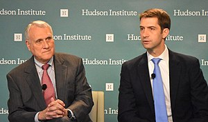 Jon Kyl - Kyl and Senator Tom Cotton speaking at Hudson Institute