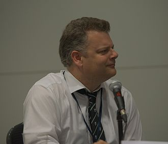 Jonathan Clements - Jonathan Clements at Loncon.