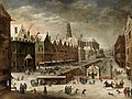 Joos Mompers II, Pieter Snayers - View of a city canal in winter.jpg