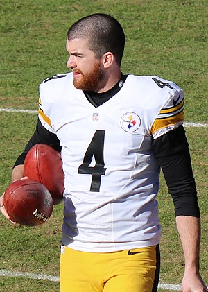 Jordan Berry - Berry with the Steelers in 2015