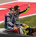 Jorge Lorenzo and Valentino Rossi - 2014 US Grand Prix (cropped).jpg