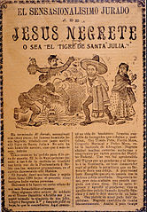 The very Sensational Plot of Jesús Negrete, a.k.a., The Tiger of Santa Julia