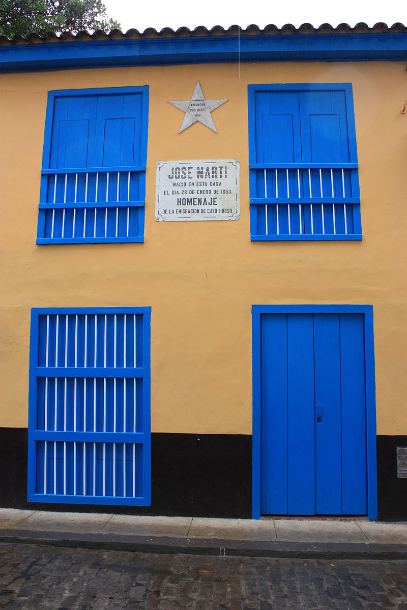 Jose Marti%27s birthplace, Havana, Cuba.jpg