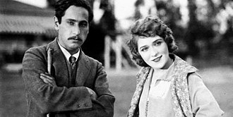 "Josef von Sternberg - Josef von Sternberg and Mary Pickford at the Pickfair Estate, Beverly Hills, California in 1925. Dubbed ""Mary Pickford's New Director"", photos of Sternberg and Pickford were widely circulated in the press, ""but the entente was short-lived."""