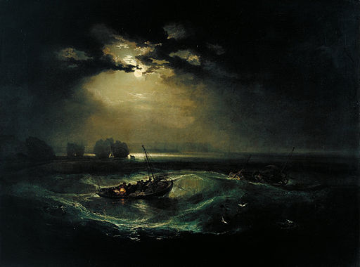 Joseph Mallord William Turner - Fishermen at Sea - Google Art Project