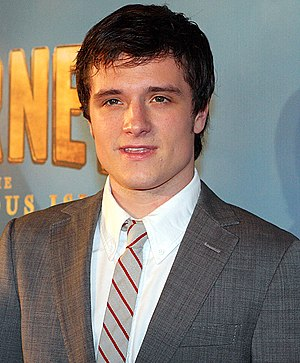 Journey 2: The Mysterious Island - Josh Hutcherson at the film's premiere.