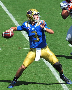2015 UCLA Bruins football team - Josh Rosen started at quarterback as a true freshman