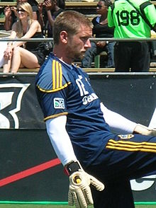 Josh Saunders at Galaxy at Earthquakes 2010-08-21 2.JPG