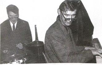 Juha Vainio - Juha Vainio (right) in restaurant Fennia in 1957