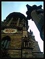 June The Hexenhammer Freiburg Jesuit Nights Medici - Master Habitat Rhine Valley Photography 2013 Katholisches Münster - Arbeit macht frei (Jesuiten) - Ablaßschinder, Du lügst Gott will es nicht (Martin Luther) - panoramio.jpg