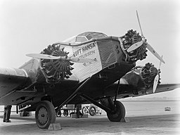 Junkers G 31, Willem van de Poll [CC BY-SA 3.0 (https://creativecommons.org/licenses/by-sa/3.0)], via Wikimedia Commons
