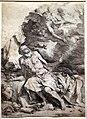 Jusepe de ribera, san girolamo e l'angelo del giudizio, 1620-21, acquaforte.jpg