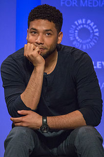 Jussie Smollett American actor