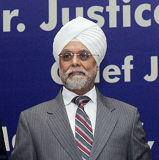 Jagdish Singh Khehar 44th Chief Justice of India