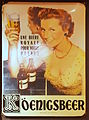 Köenigsbeer enamel advertising sign.JPG
