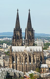 Cologne Cathedral Church in Cologne, Germany